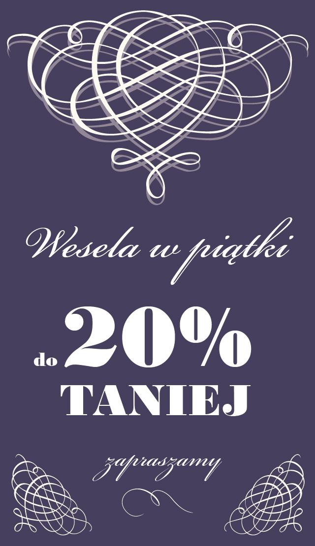 promocja-wesela-w-piatki-taniej-fiolet